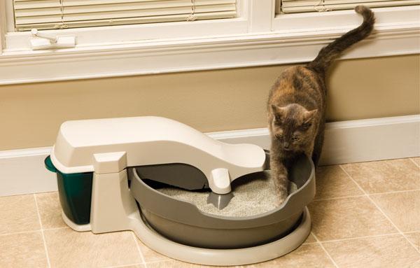 Automatische toiletpot voor katten. koop een automatisch toilet voor